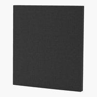 Uzglavlje 90x115 H10 PLAIN siva-28