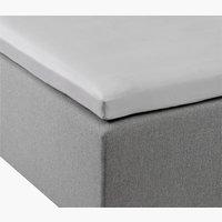 kuvertlagen sat. 300TC 90x200x6-10 grå