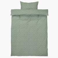 Duvet cover HANNA 140x200 green