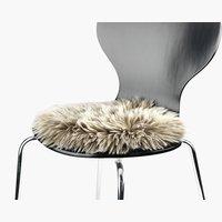 Sedežna blazina TAKS Ø34 umetno krzno