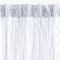 Curtain ERKEN 1x140x300 stripe blue