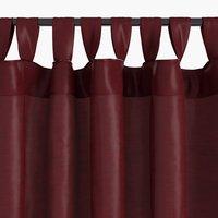 Завеса LUPIN 1x140x300 коприн.вид бордо