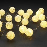 Světelný řetěz KAARE bílá 20 LED