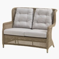 Lounge-Sofa FALKENBERG 2 Pers. natur