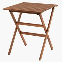 Bistro table VEN W62xL62 hardwood