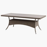 Table STRIB W96xL200 nature