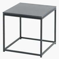 Table d'appoint OLDHUSE l45xL45xH45 noir