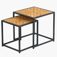 Nest of tables NAUR teak