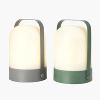 Lampa na bater.GRESSHUMLE Ø15xV21cm růz.