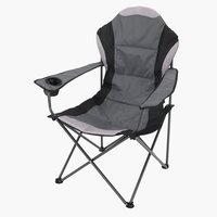 Kamperska stolica HOLMDALEN siva