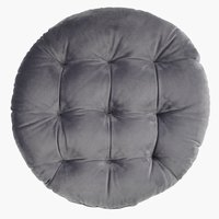 Coussin HYBENROSE Ø38xH5 gris