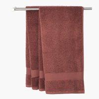 Πετσέτα μπάνιου KARLSTAD δαμασκηνί