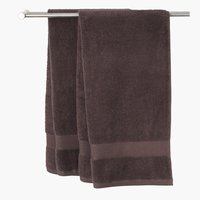 Bath sheet KARLSTAD brown