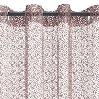 Függöny LURO 1x140x300 pókháló tópszín