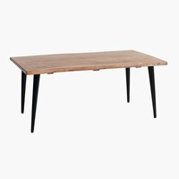 Coffee table OKSLUND 60x110 natural