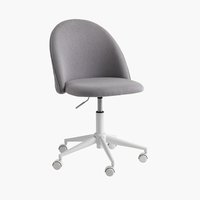 Office chair KOKKEDAL grey/white