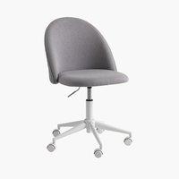 Bürostuhl KOKKEDAL grau/weiß
