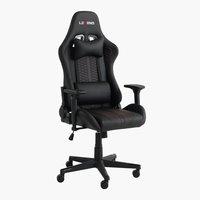 Gaming-Stuhl NIBE schwarz/rot
