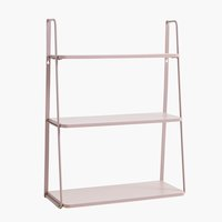 Wall shelf HIRTSHALS rose