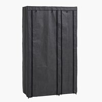 Wardrobe DAMHUS 100x174 dark grey