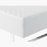 Quilted mattress protector DBL
