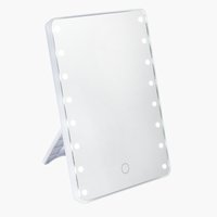 LED mirror MARIEFRED H22cm white