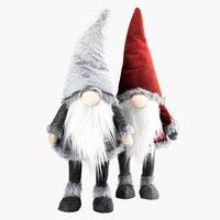 Elfo natalizio FAFNER H70cm ass.