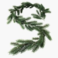 Girlande EMBLA L180cm grün