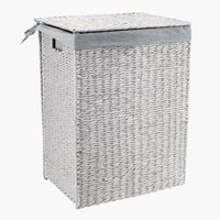 Laundry basket KETIL W30xL42xH56cm grey