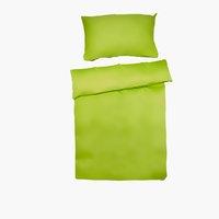 Bettwäsche UNI Satin DBL grün