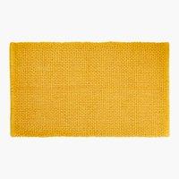 Tappetino bagno NOLVIK 65x110 giallo