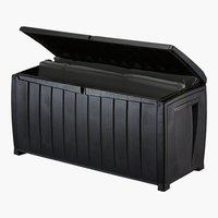 Auflagenbox ILLERUP 124x63x55 schwarz