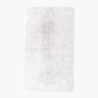 Badematte UNI DE LUXE 65x110 weiß