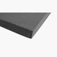 Jersey-Spannleintuch 180x200x30cm grau