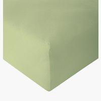 Sábana ajust Jersey 180x200x30cm verde c