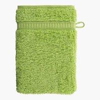 Waschlappen KRONBORG DE LUXE grün
