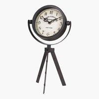 Uhr EMANUEL B17xL15xH37cm schwarz/weiß