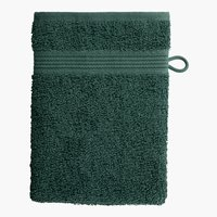 Manopla baño CLASSIC LINE verde oscuro