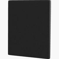 Sengegavl H10 PLAIN 160x115 svart-10