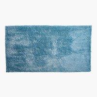 Tapete banho LUXUS CHENILLE 65x110 azul