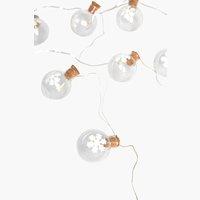 Lichterkette AKTINOLIT m/15 LED div.
