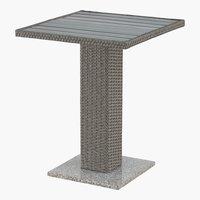 Mesa de balcón TOLEDO A60xL60 gris