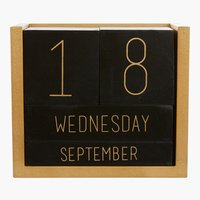 Kalender KLEMENS B10xL6xH12cm