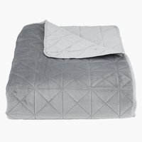Bed throw ENGBLOMME 220x240 grey