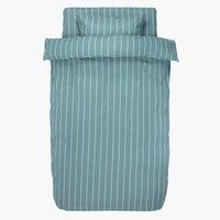 Пост.белье SARA 140x200 сине-зеленый