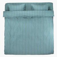 Пост. белье SARA 2СП сине-зеленый