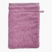 Luva de banho PREMIUM rosa KRONBORG