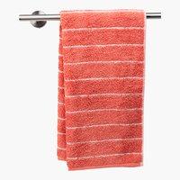Lençol banho STRIPE rosa poeirento