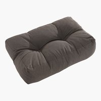 Coussin palette SKJERPE 60x40 taupe