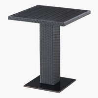 Table bistrot THY 60x60 noir